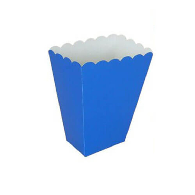 Dark Blue Treat Boxes 8 Pack