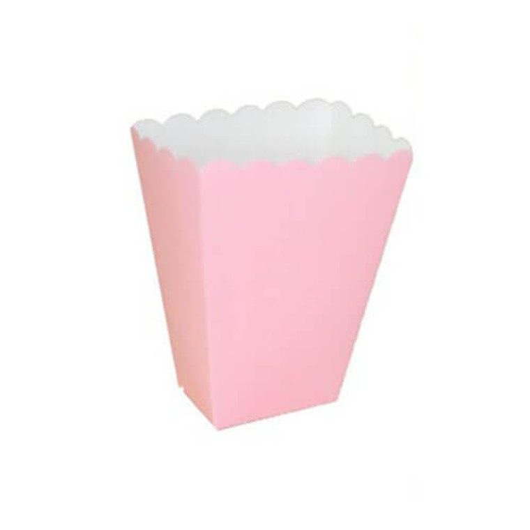 Light Pink Treat Boxes 8 Pack