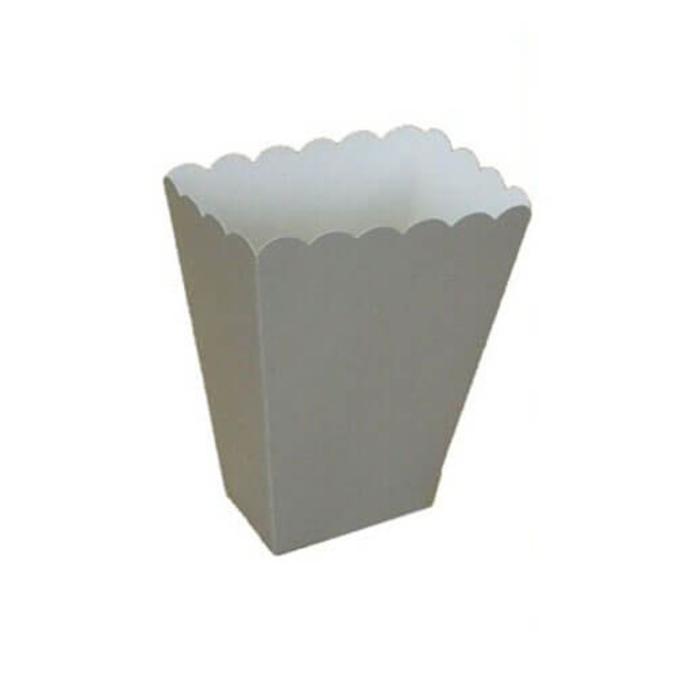 Silver Treat Boxes 8 Pack