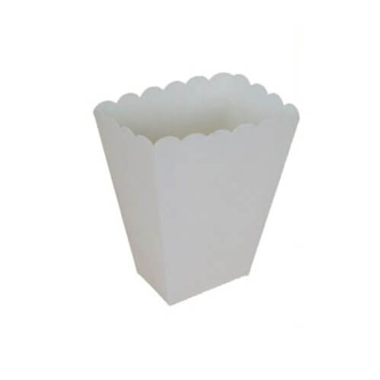 White Treat Boxes 8 Pack