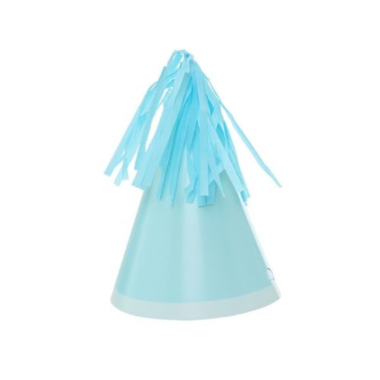 Pastel Blue Party Hat 10pk