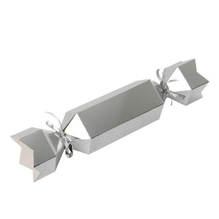 Metallic Silver Bonbon 10pk
