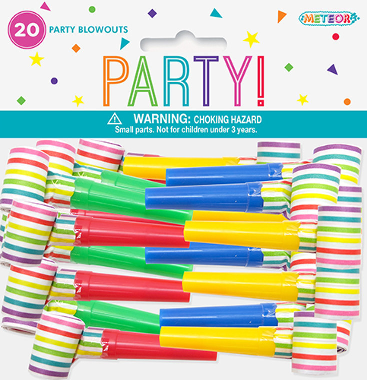 Party Blowouts 20 Pack