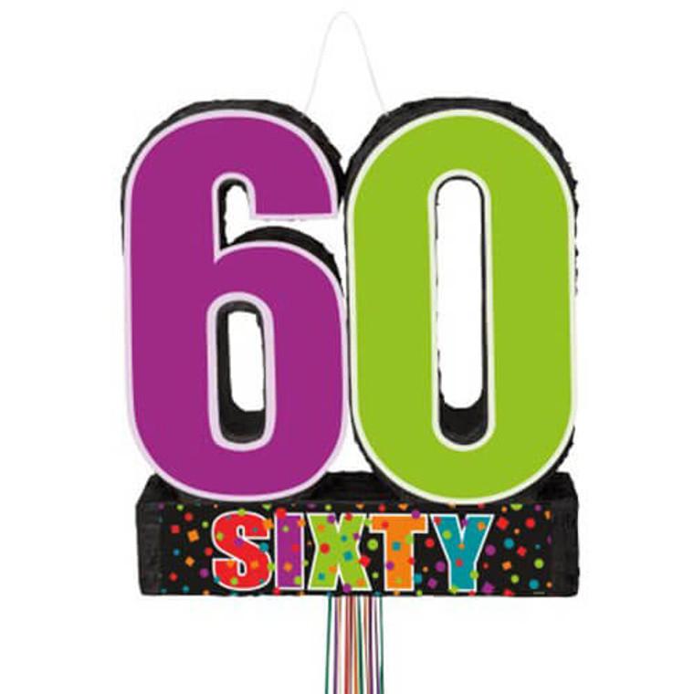 Party Birthday Cheer 60 Pinata