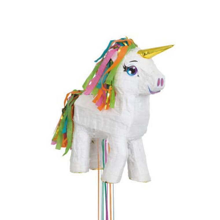 Pinata Pull - White Unicorn