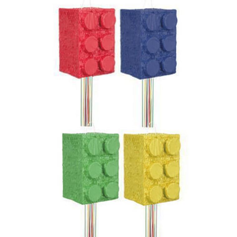 Building Block Party Pinata Assorted