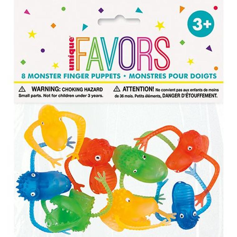 Favours - Finger Puppets Pk 8