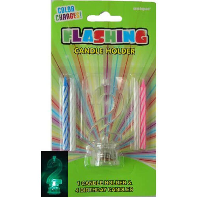 2 - Flashing Candle Holder