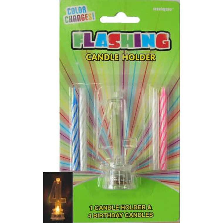 4 - Flashing Candle Holder