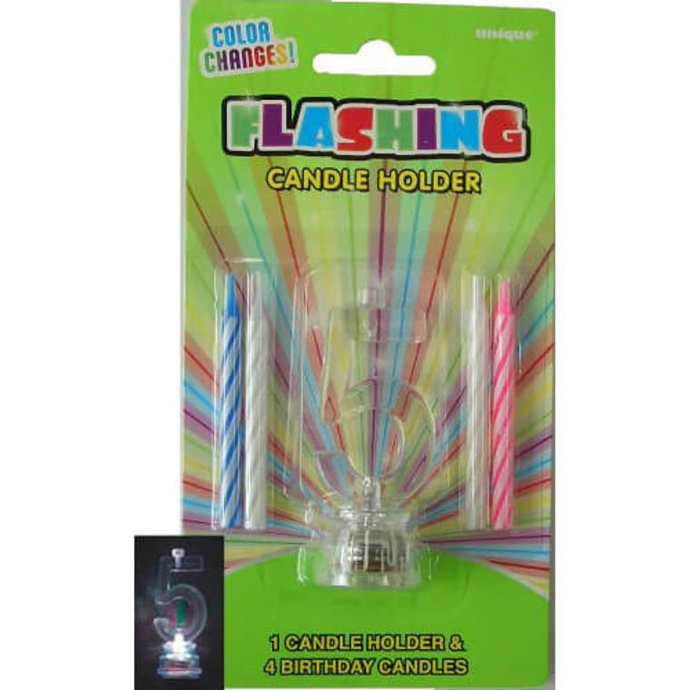 5 - Flashing Candle Holder
