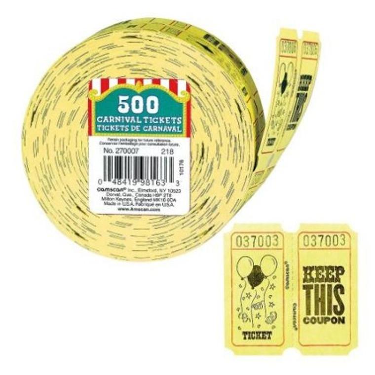 Carnival Tickets - 500 Roll