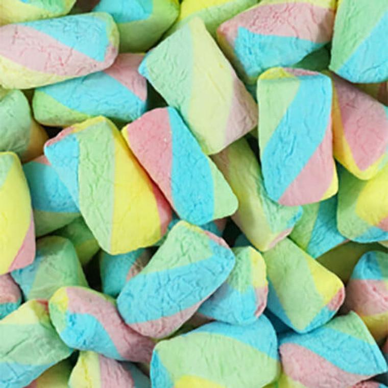 Rainbow Swirl Marshmallows - 1kg