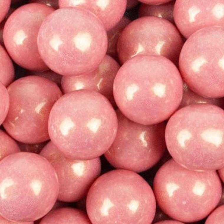 Pink Shimmer Gumballs 900g-Bubblegum