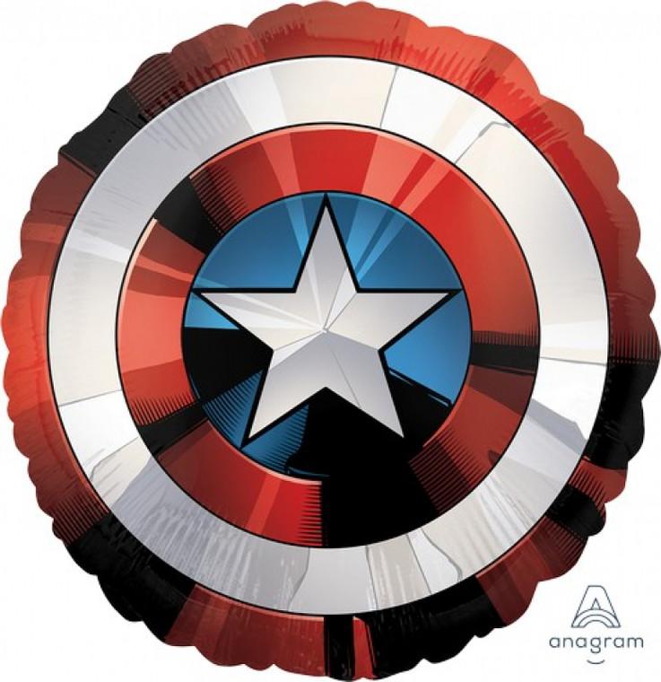 Supershape Balloon - Captain America Shield