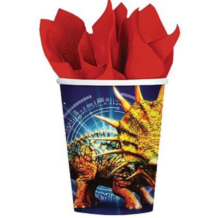 Jurassic World Paper Cups Pk 8