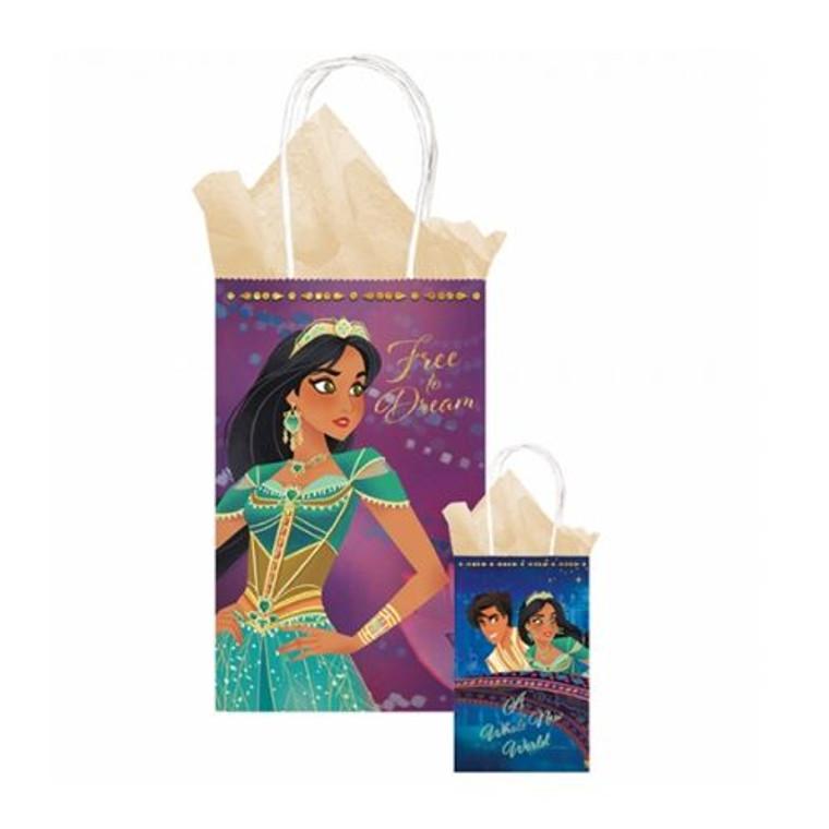 Aladdin Printed Kraft Bag Pk 8