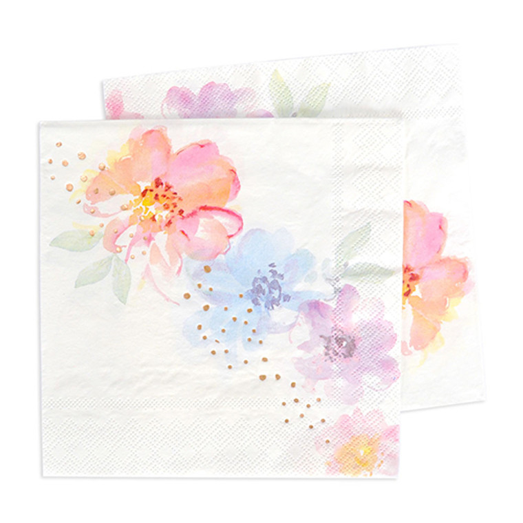 Floral Lunch Napkin 20pk