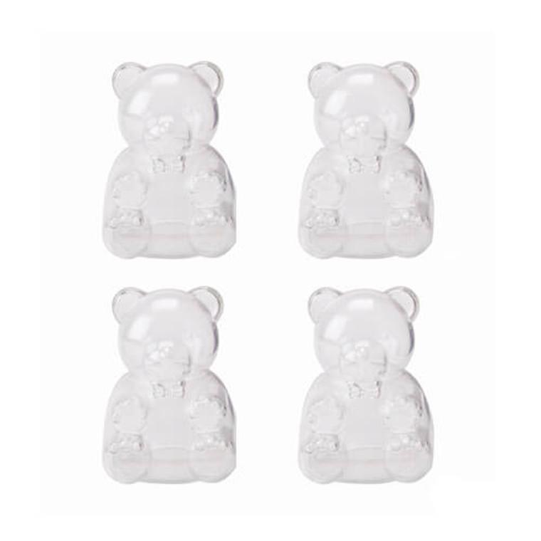 Plastic Bear Box 12Pk - Clear