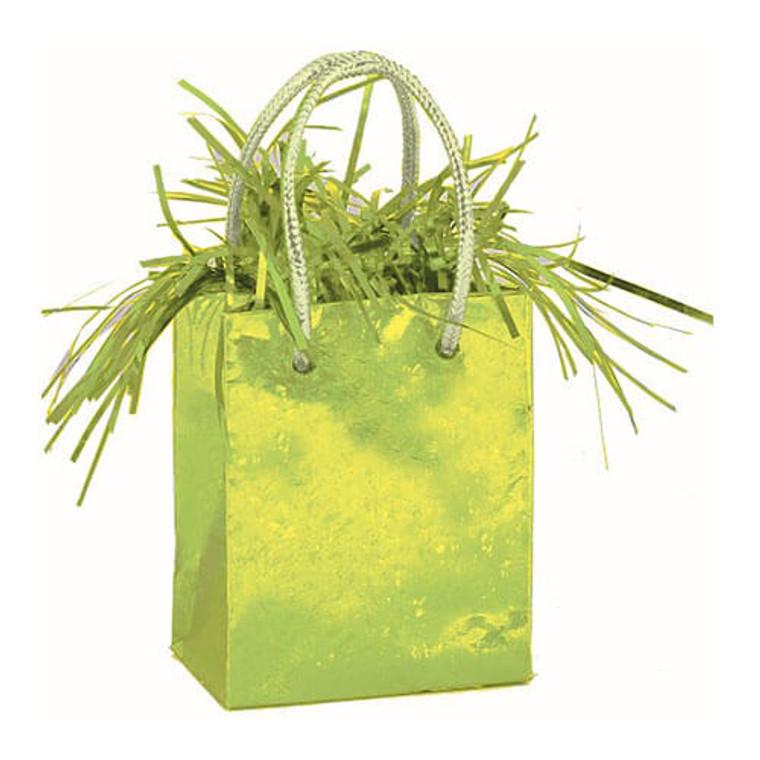 Gift Bag Balloon Weight - Green Lime