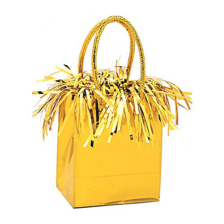 Gift Bag Balloon Weight - Yellow