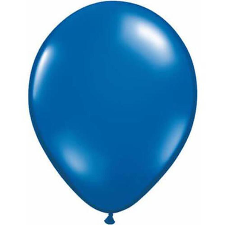 Latex Balloon 12cm - Metallic Royal Blue
