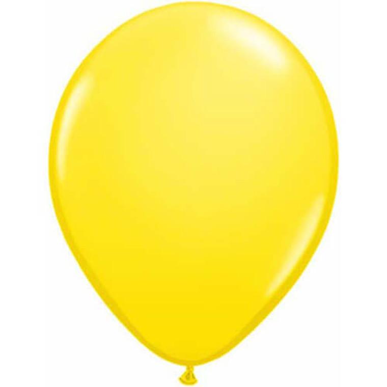 Latex Balloon 12cm - Yellow