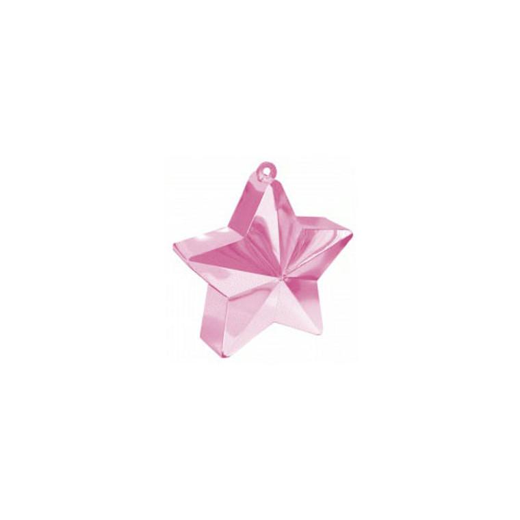 Star Balloon Weights - Pink (Pastel) Star