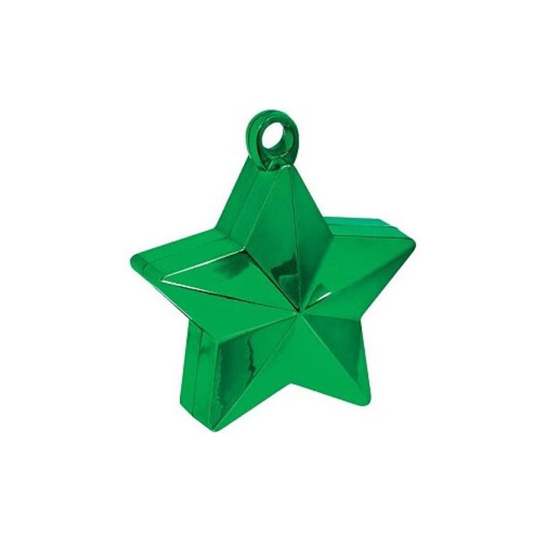 Star Balloon Weights - Green Star