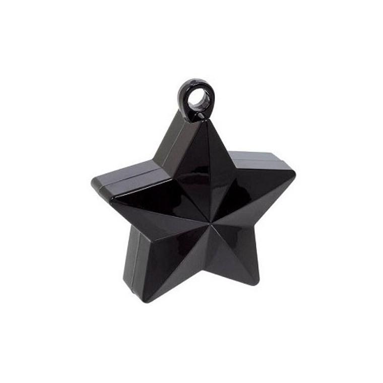 Star Balloon Weights - Black Star