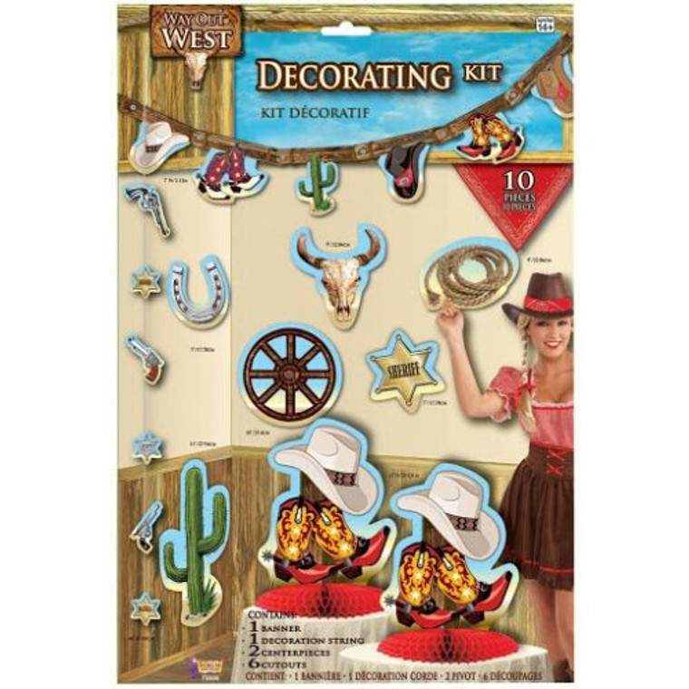 Way Out West Room Decorating Kit