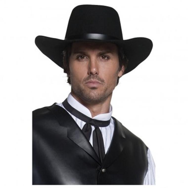 Western Cowboy Hat - Black Gunslingers