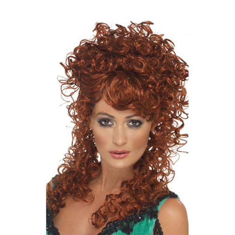 Womens Auburn Saloon Girl Wig