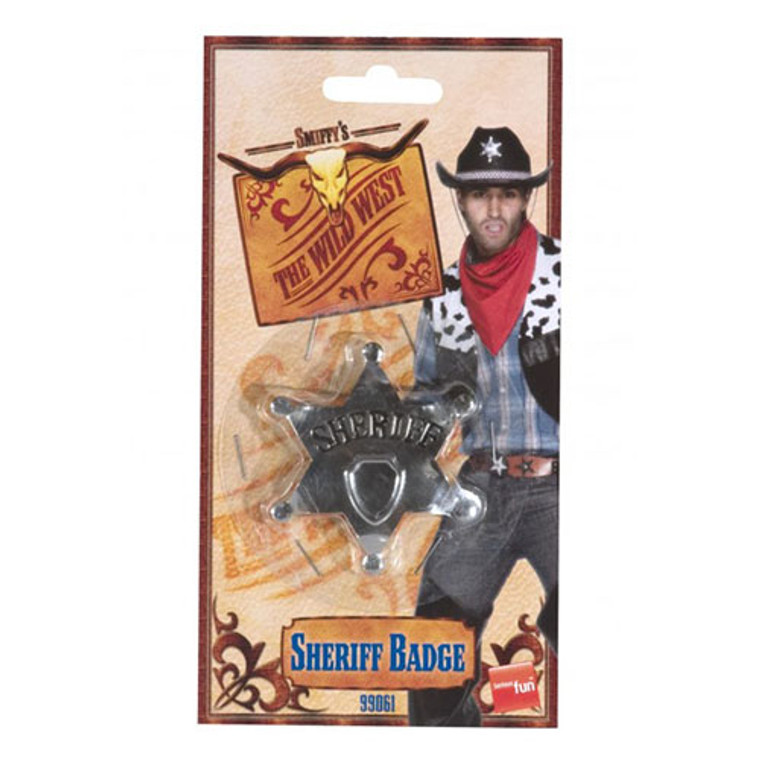 Western Cowboy - Sheriff Badge