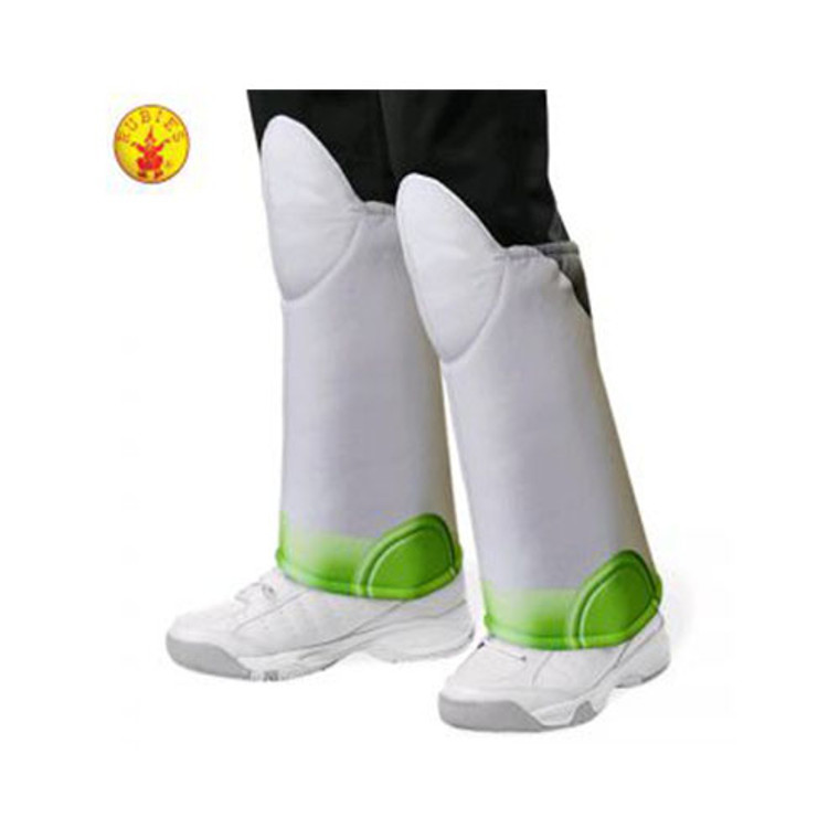 Buzz Toy Story 4 Kids Boot Tops By Rubies