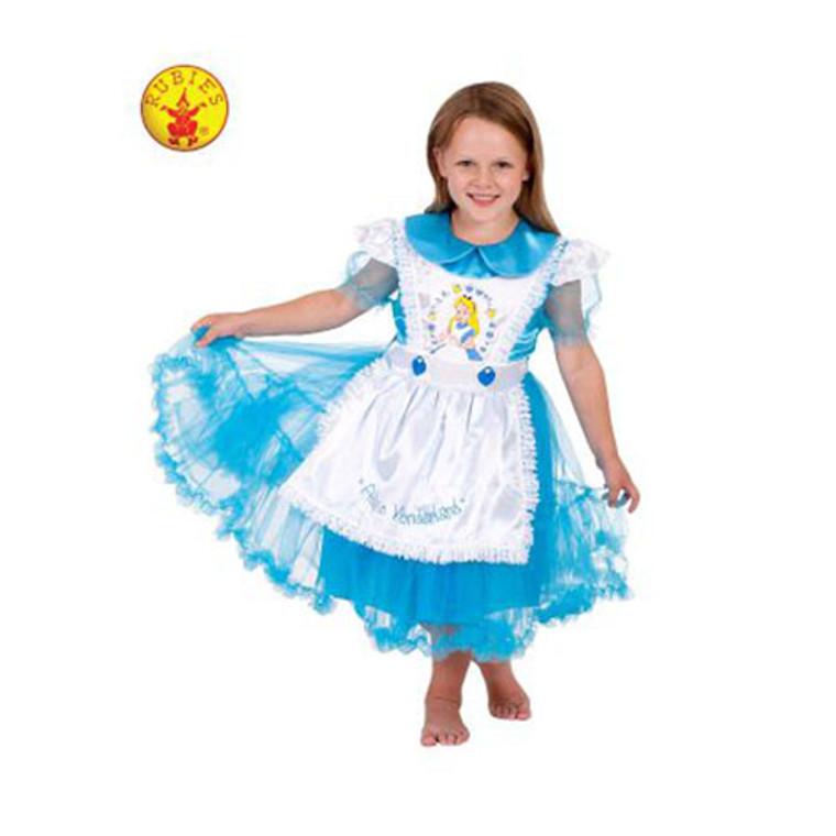 Alice In Wonderland Deluxe Kids Costume By Rubies