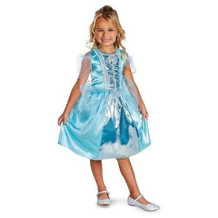 Cinderella Sparkle Kids Costume