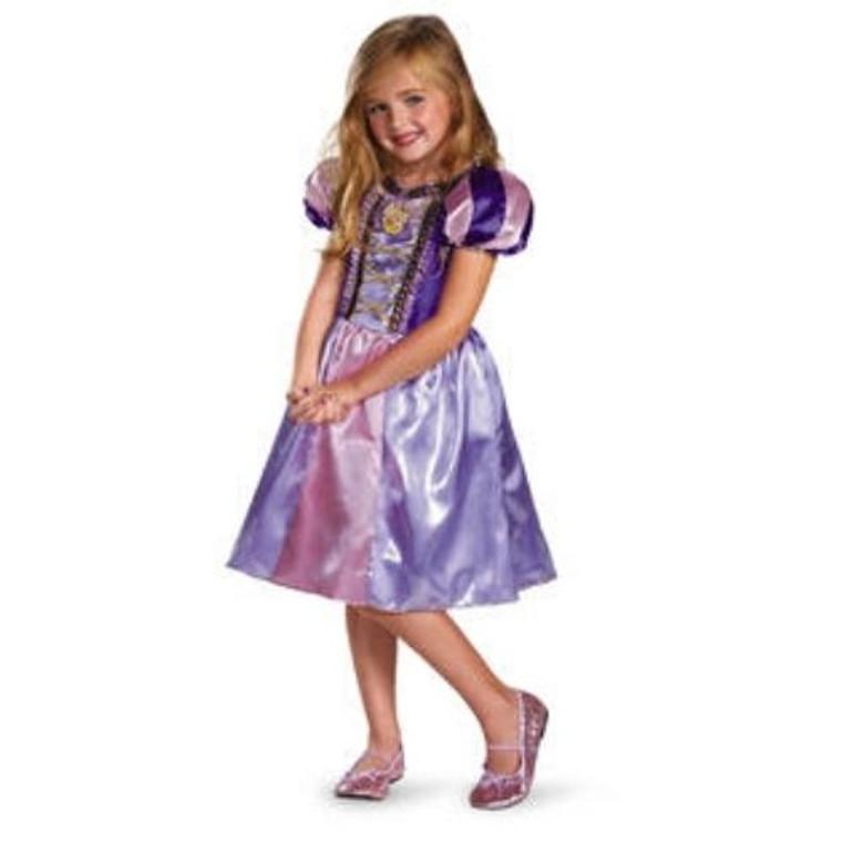 Rapunzel Sparkle Kids Costume