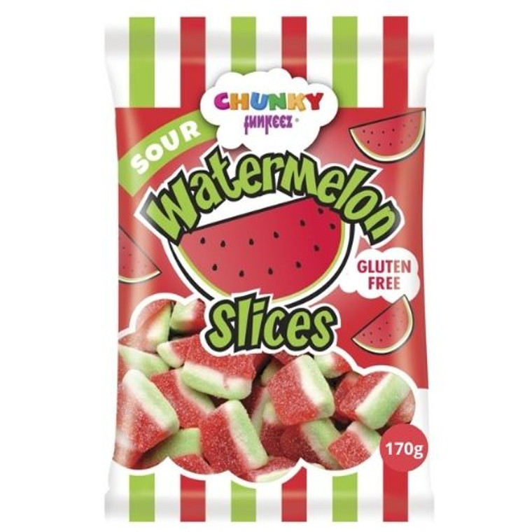 Chunky Funkeez Watermelon Slices - 170g