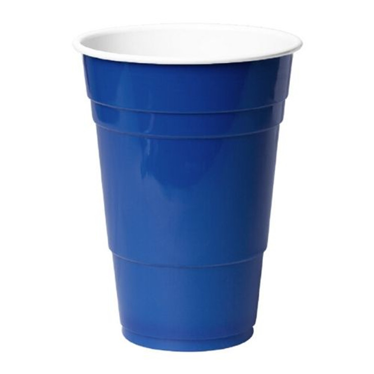 American Beer Cups Blue - Pk 50
