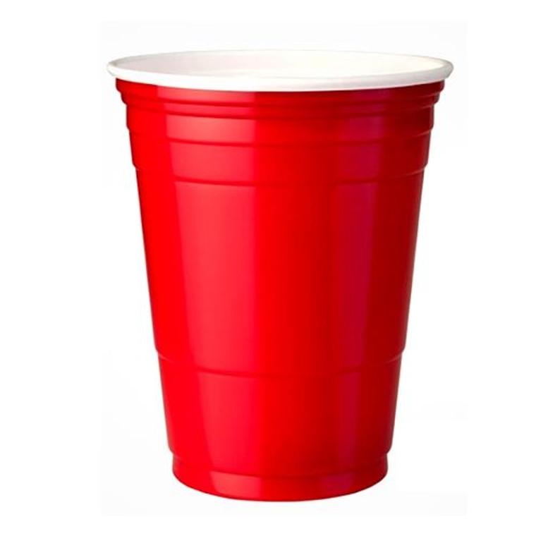 American Beer Cups Red - Pk 50