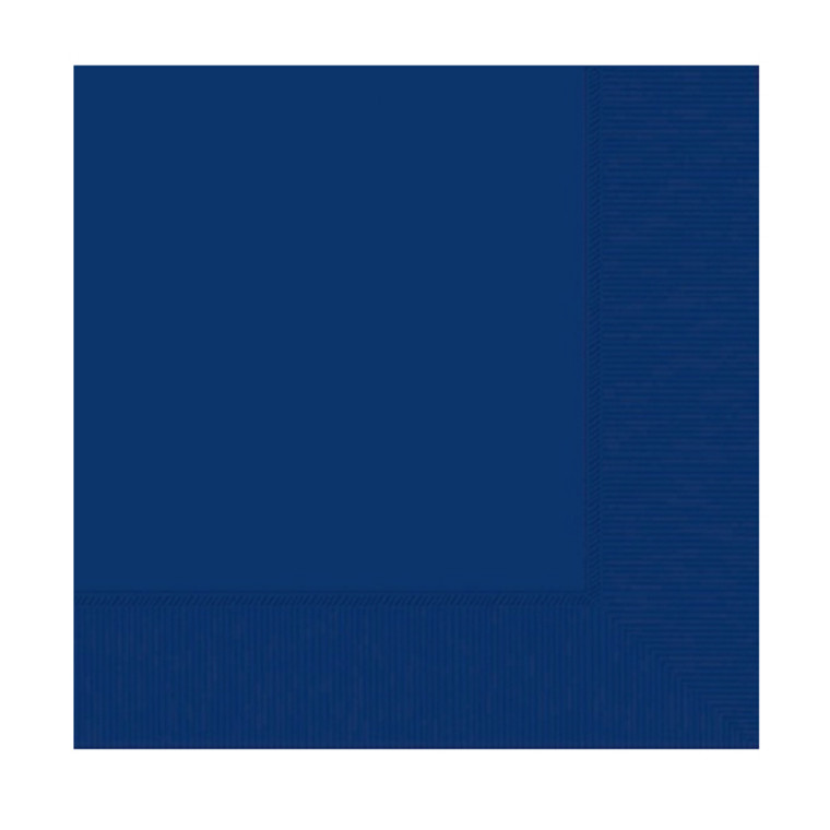 Royal Blue Lunch Napkins 20 Pack
