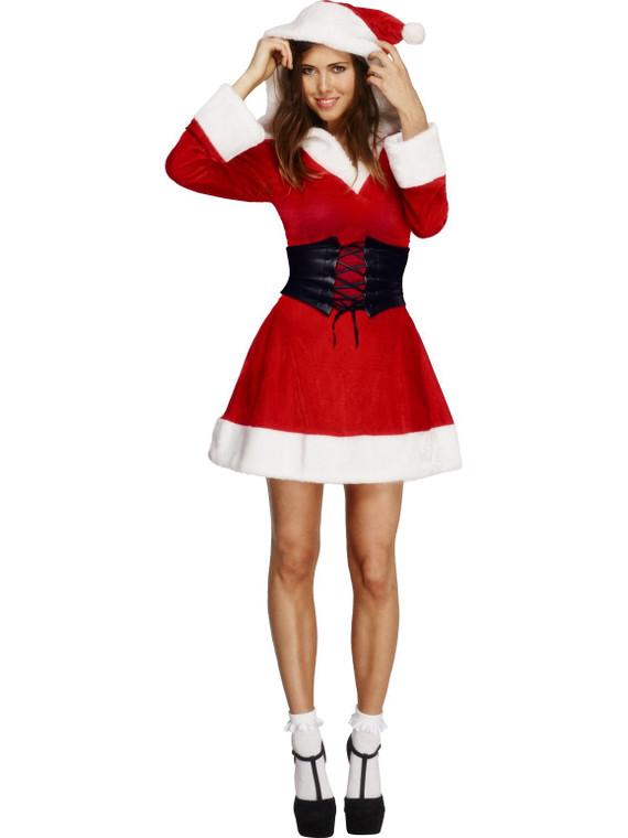 Fever Hooded Women's Santa Costume