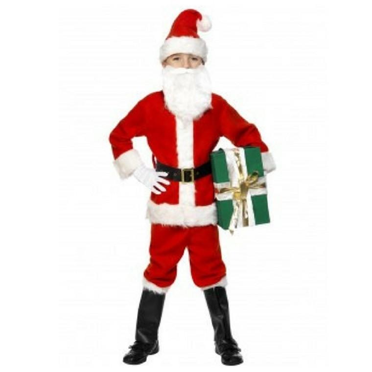 Deluxe Kids Santa Costume