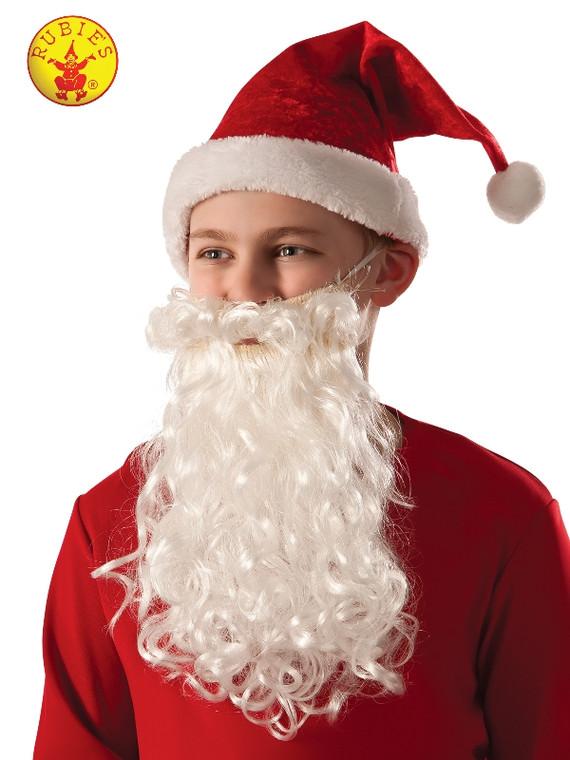 Santa Beard & Moustache - Kids