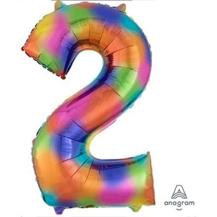 Megaloon Numeric 2 Rainbow