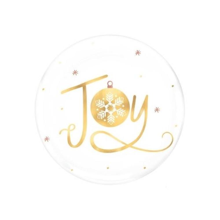 Joy Dessert Plates Pk 4