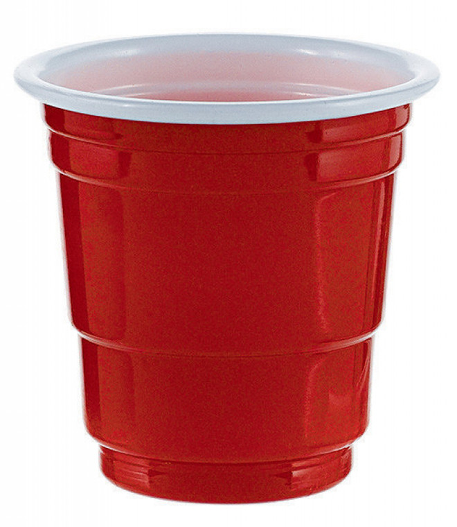 Red Shot Cups Pk 30