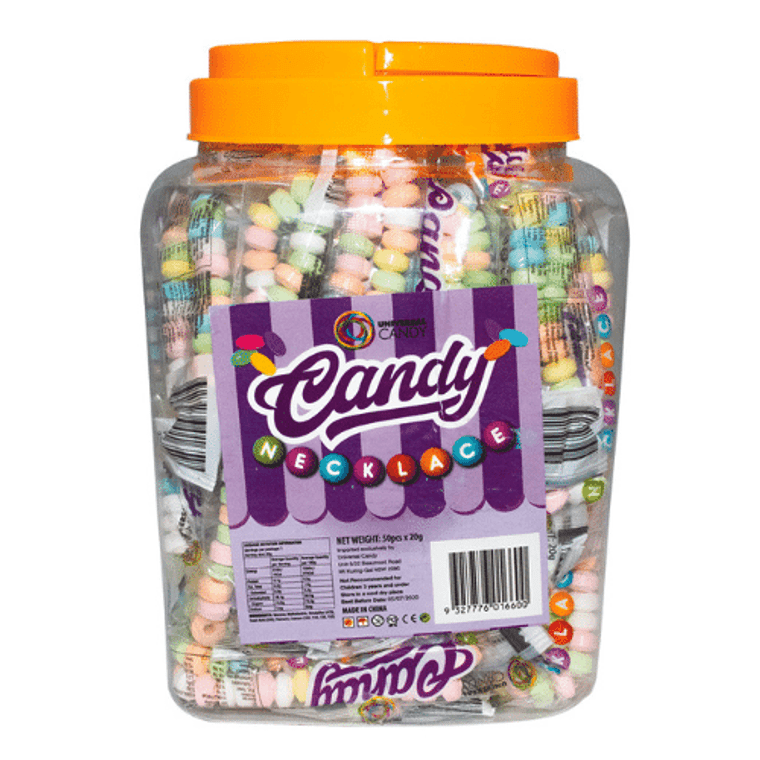 Candy Necklace Tub
