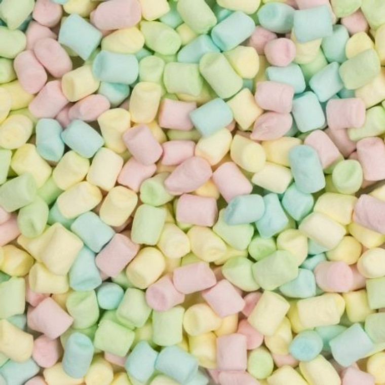 Mini Rainbow Marshmallow - 1kg