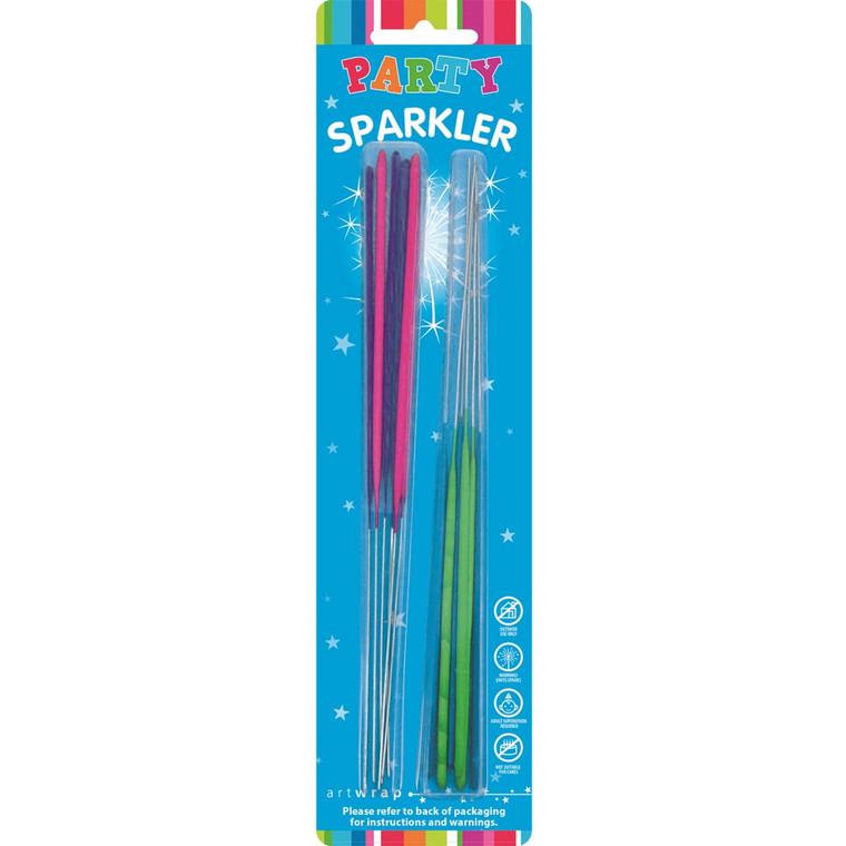 Sparklers 20cm - Multi Colour 12pk